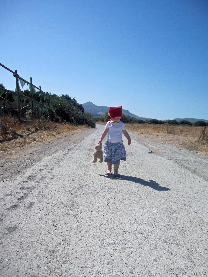 Wanderung mit Teddy