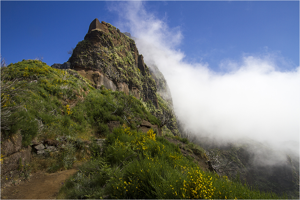 Wanderung vom Pico Arieiro Richtung Pico Ruivo 16