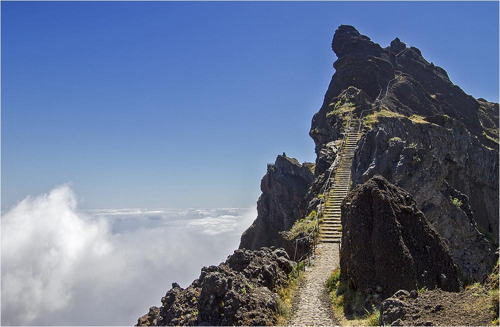 Wanderung vom Pico Arieiro Richtung Pico Ruivo 18