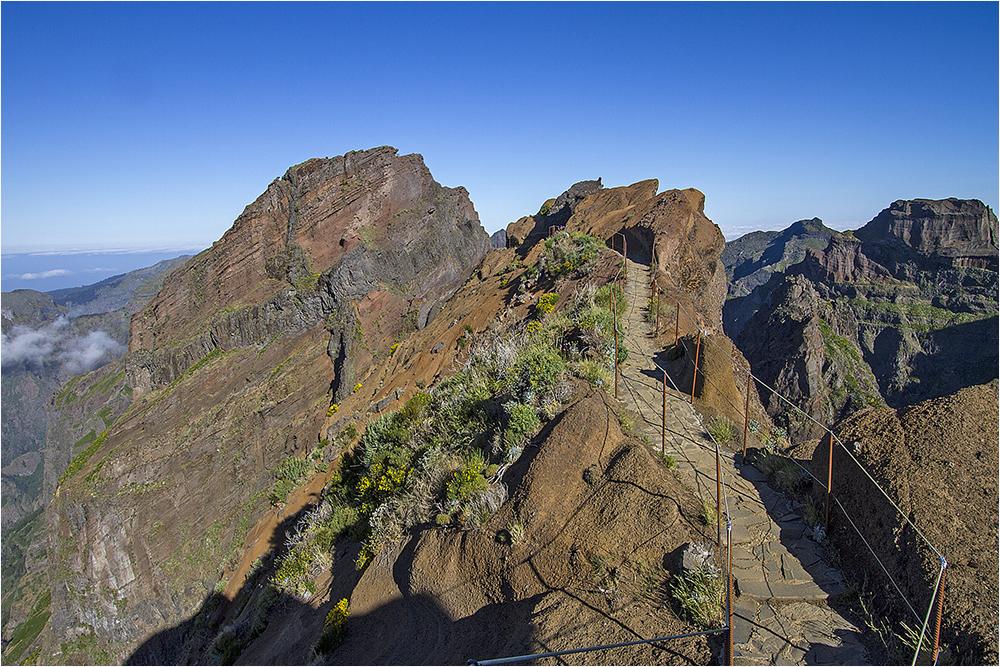Wanderung vom Pico Arieiro Richtung Pico Ruivo 2