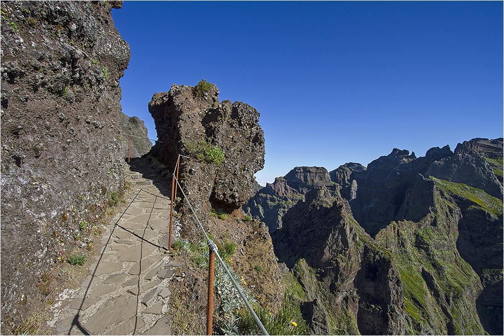 Wanderung vom Pico Arieiro Richtung Pico Ruivo 6