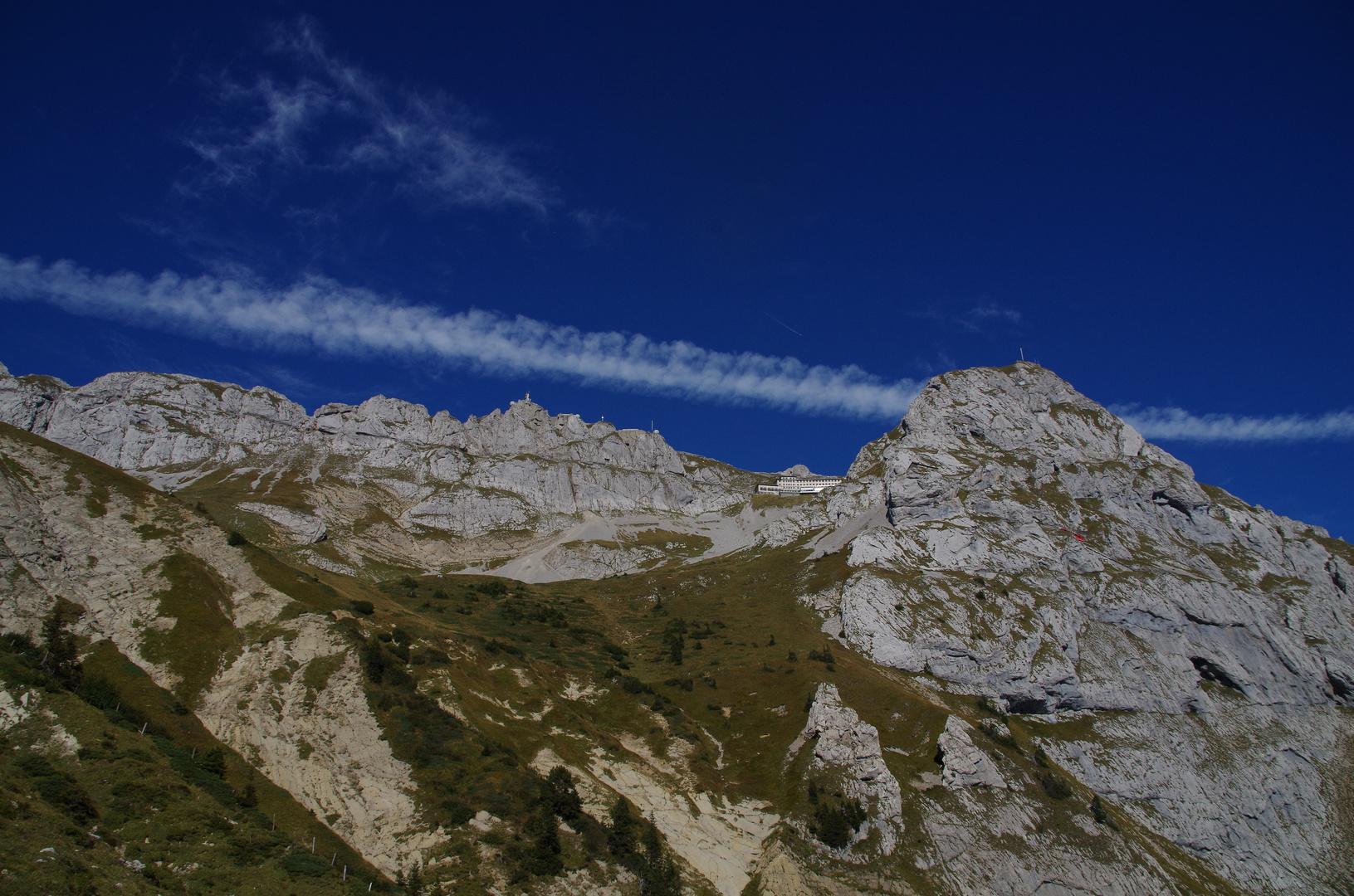 Wanderung von Alpnachstad zu Pilatus Kulm
