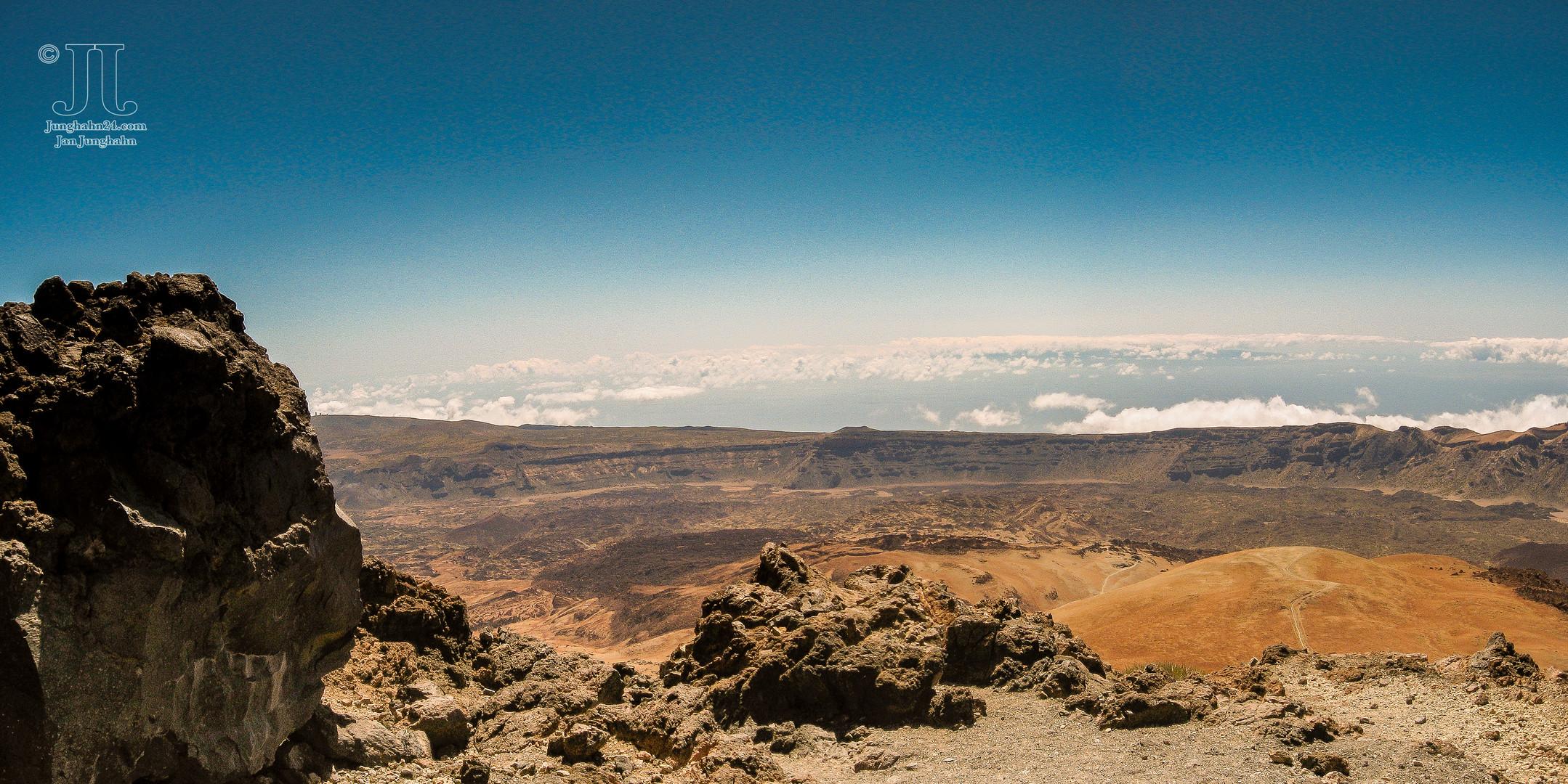 Wanderung zum Pico del Teide