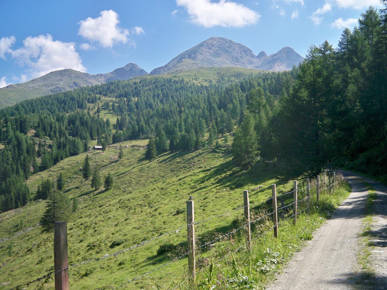 Wanderweg auf den Scharnik (Kreuzeckgruppe)