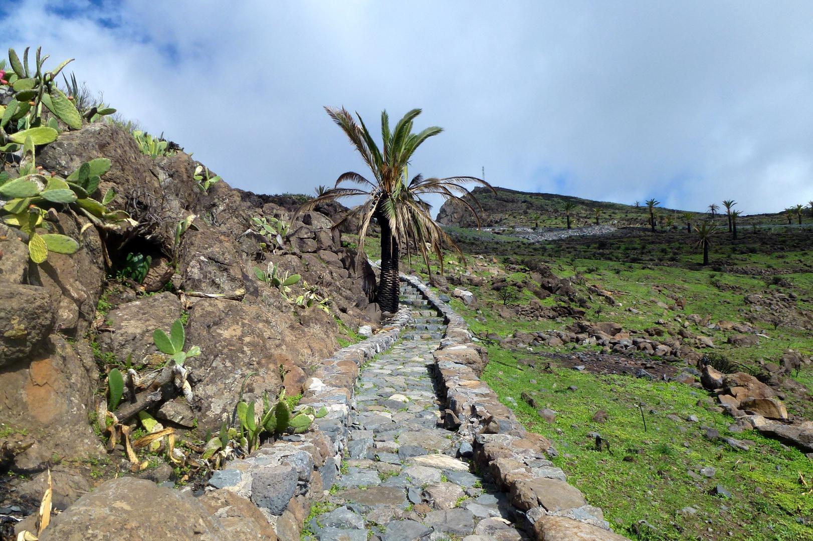 Wanderweg auf La Gomera