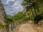 Wanderweg im Tramontanagebirge
