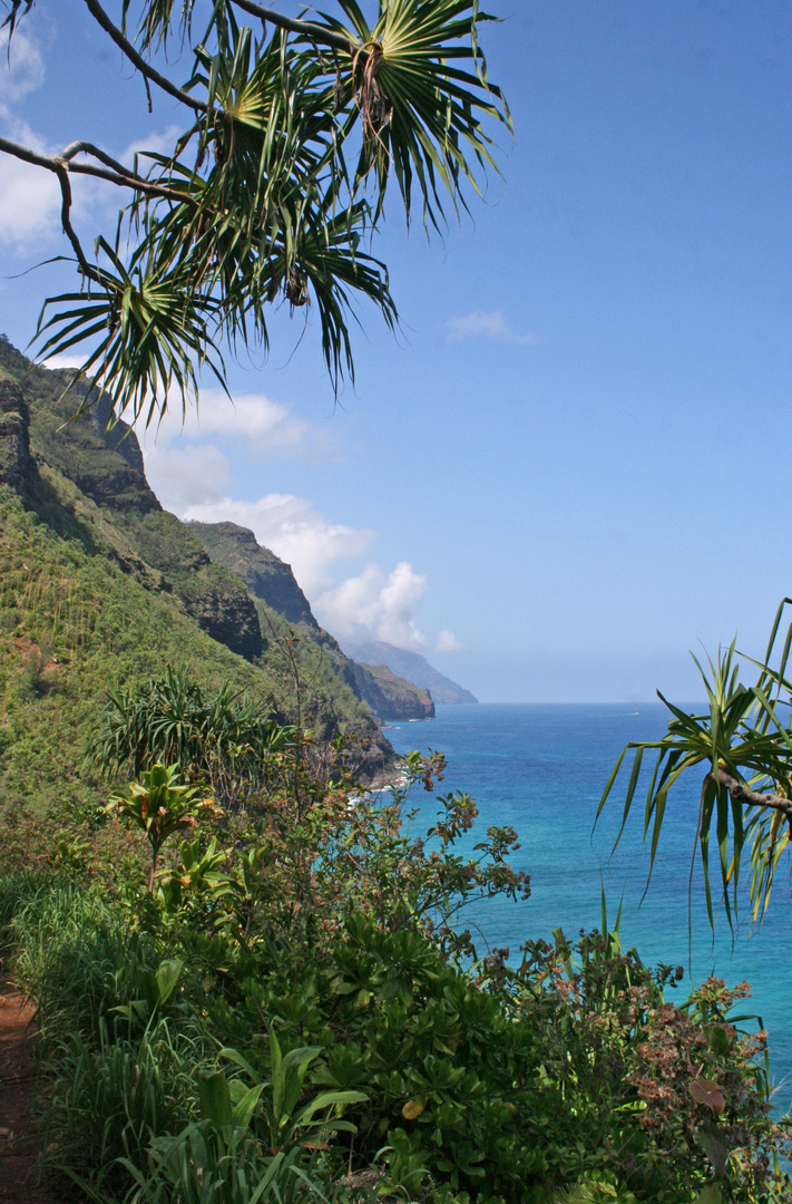 Wanderweg Napali-Coast
