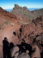 Wanderweg zum Roque de los Muchachos