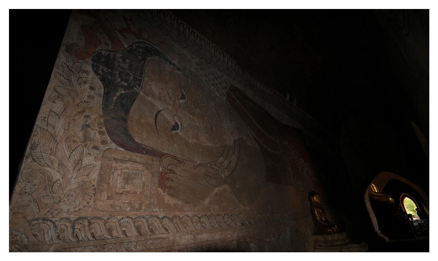 Wandgemälte in Bagan