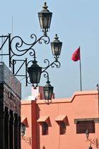 Wandlaterne in Marrakesch
