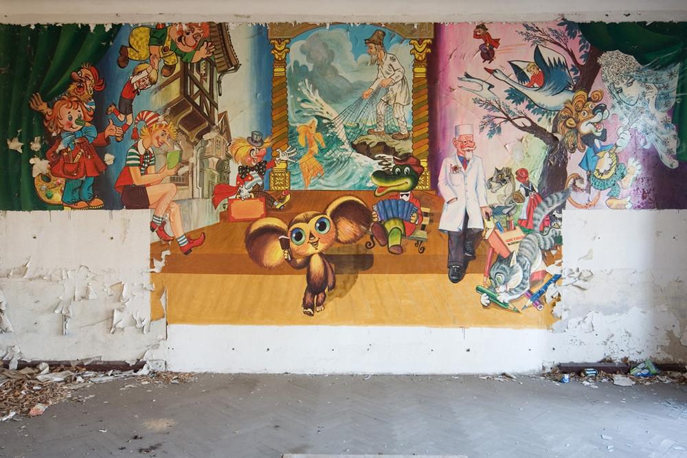 Wandmalerei...