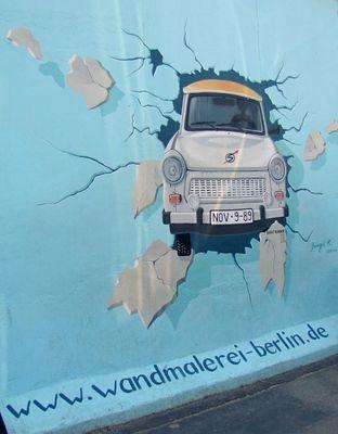 Wandmalerei - Berliner -Mauer