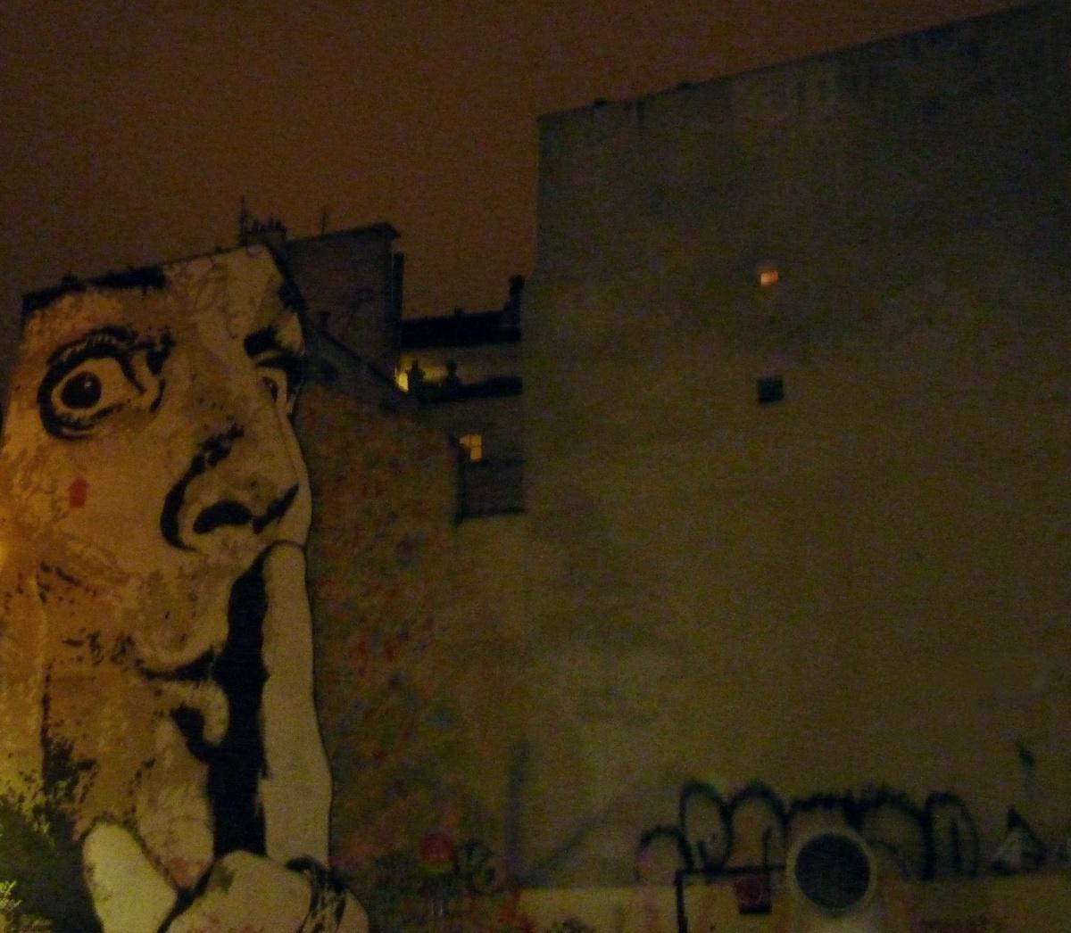 Wandmalerei in Paris