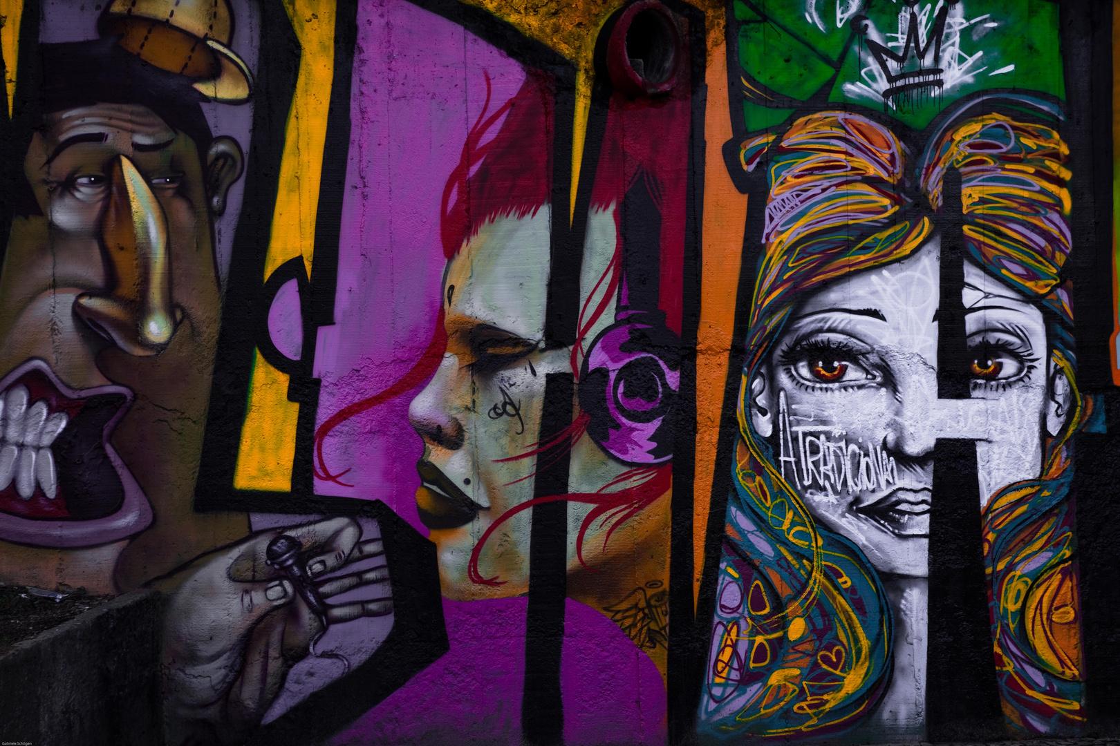 Wandmalerei in Rio