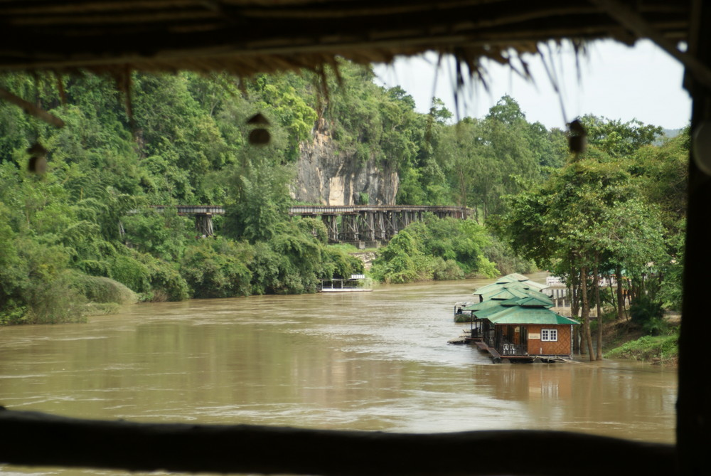 Wang Po-Viadukt Thailand