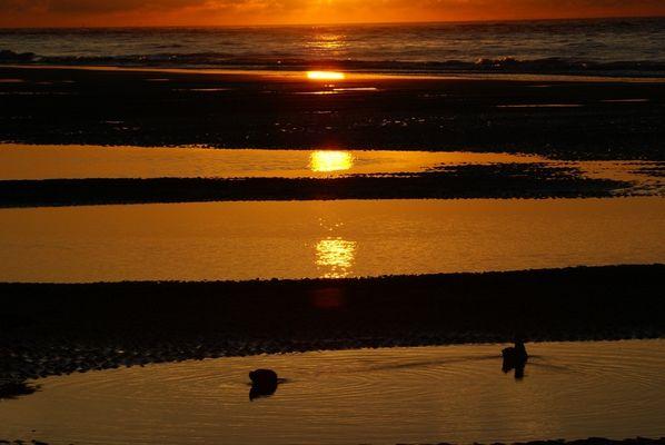 Wangerooge bei Sonnenuntergang