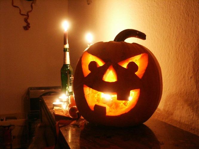 Wann ist endlich wieder Halloween ???
