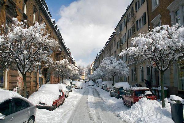 Wann wird's mal wieder richtig Winter ...