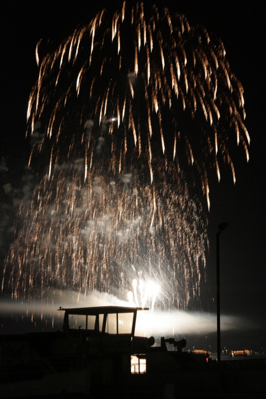 Wannsee in Flammen