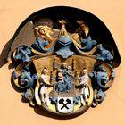 Wappen am Rathaus von Annaberg- Buchholz