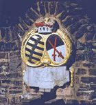 Wappen an der Brücke