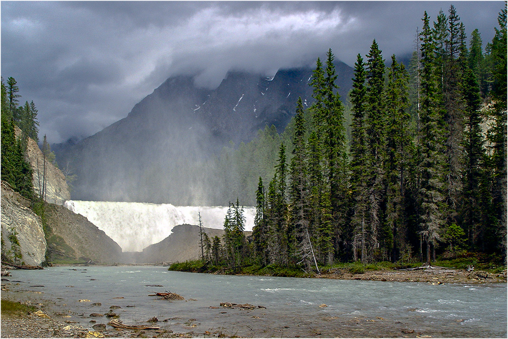 Wapta-Falls, Canada