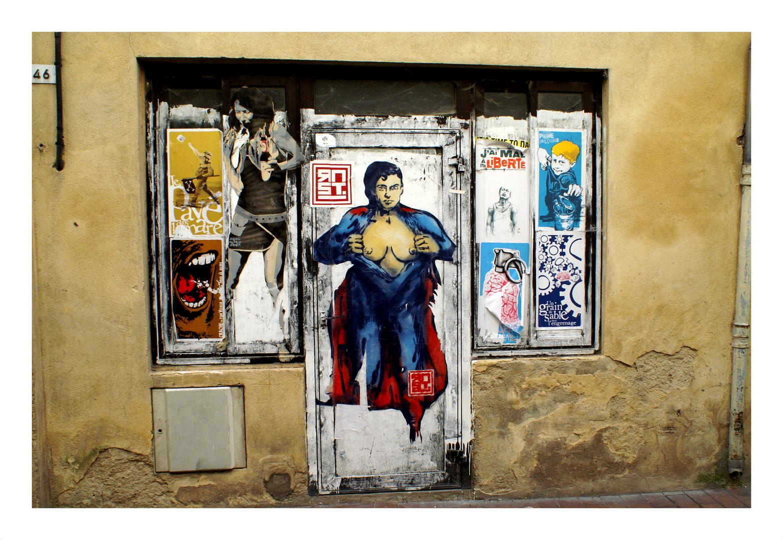 War Superman eine Frau?