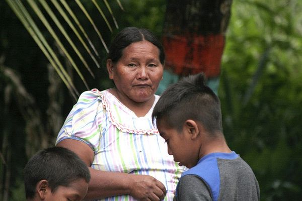 Warao Indianer