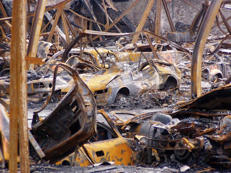 Waren mal heisse Flitzer (Brand vom 31.08.2005 in Wuppertal)