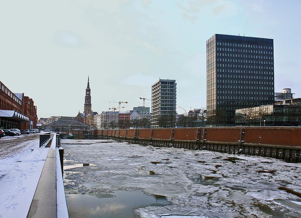 Warm war es nicht in Hamburg :-)))
