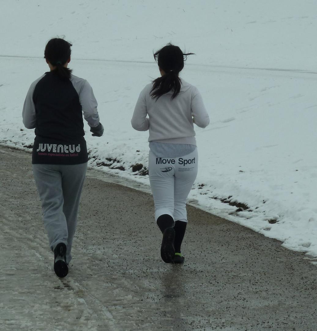 warmlaufen...