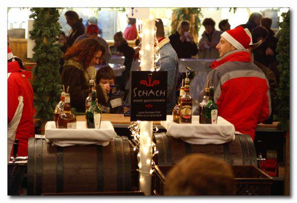 Warmmacher auf dem Weihnachtsmarkt