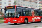 """Warnowblick"" Buslinie in Rostock"