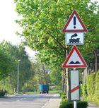 Warnung vor der Dampflok