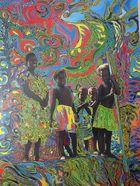 Warriors kids in Vanuatu