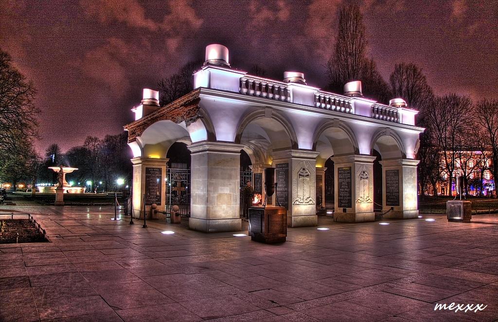 Warschau - Grabmal des unbekannten Soldaten ...