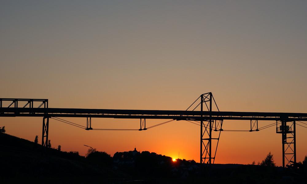 Warsteiner industriell sundown