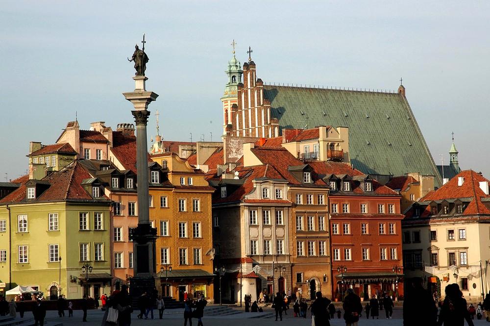 Warszawa, Altstadt