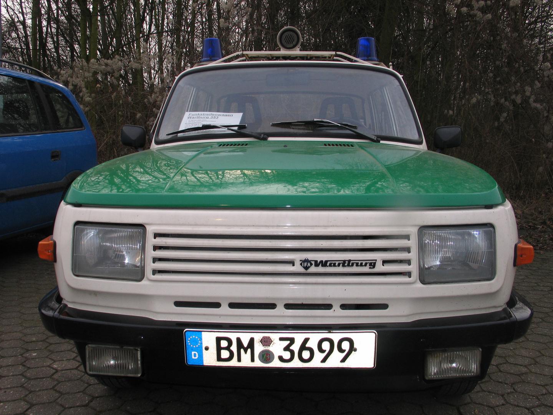 Wartburg 353 - ein Fahrzeug der Wende