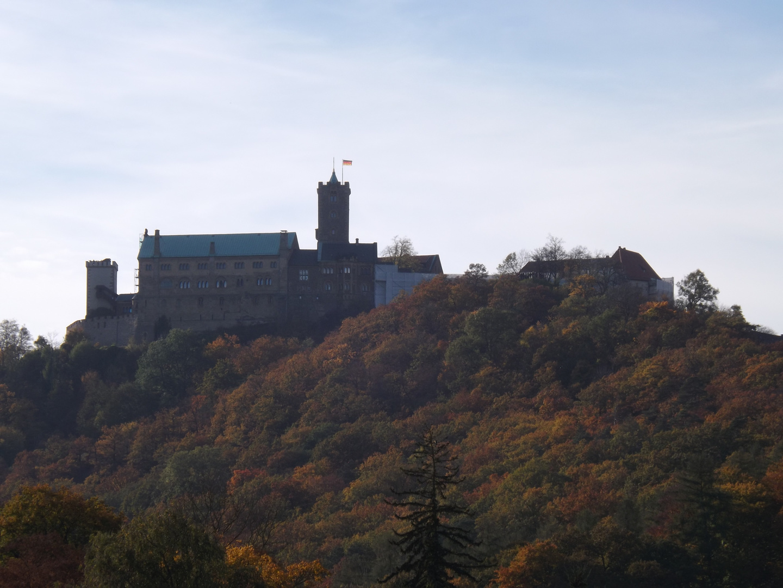 Wartburg im Herbst