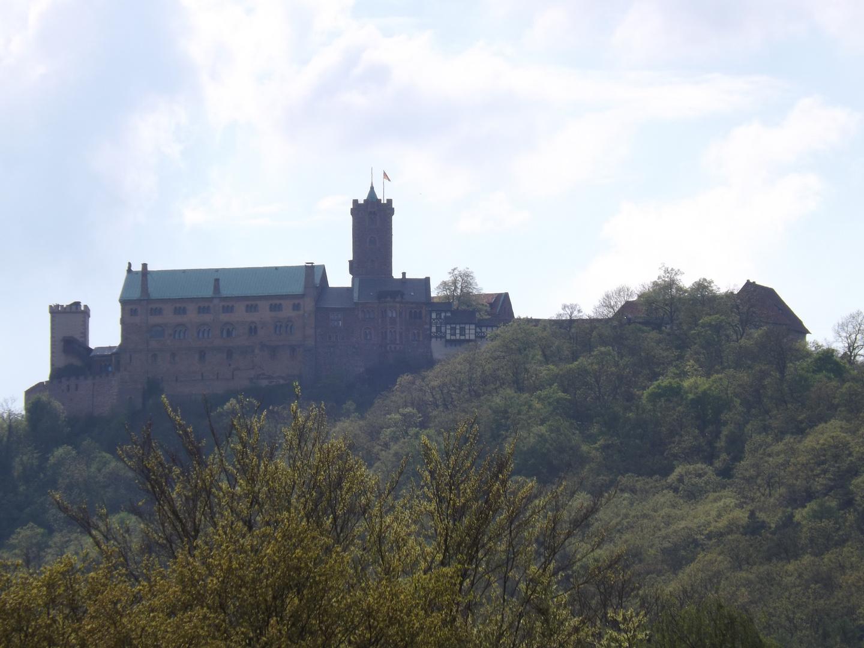 Wartburg im Sommer