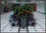 Wartehalle im Krankenhaus Neukölln/Berlin in 3D (Rot/Cyan)
