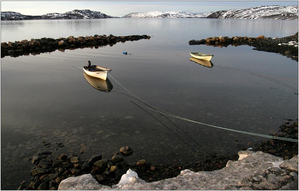 Warten auf den Fischer