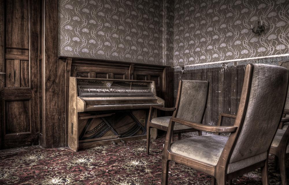 warten auf den Pianisten ...