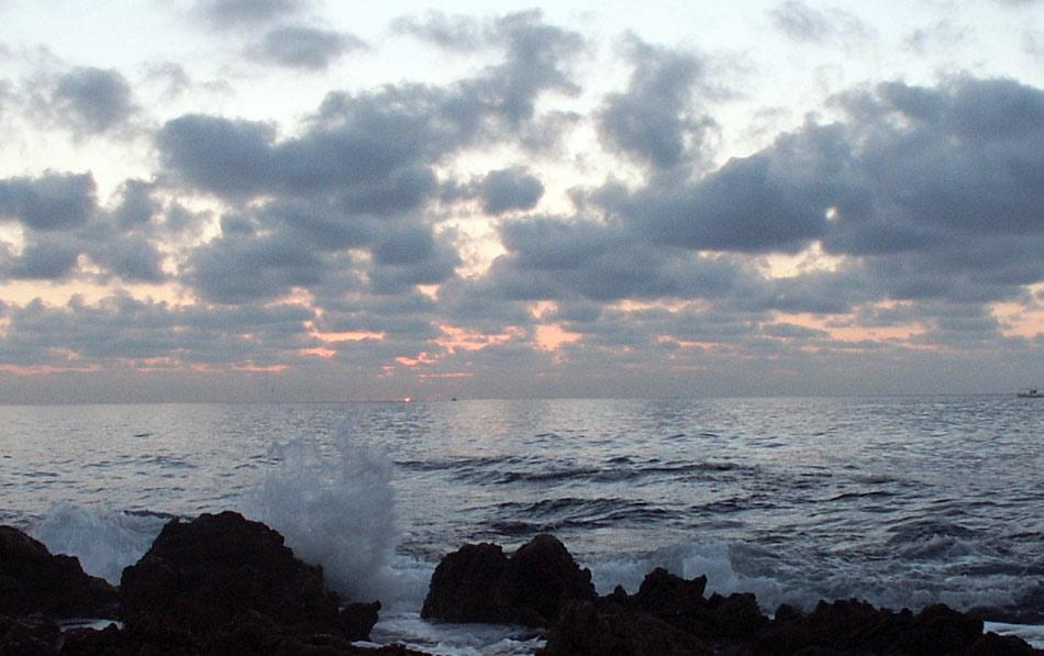 Warten auf den Sonnenaufgang