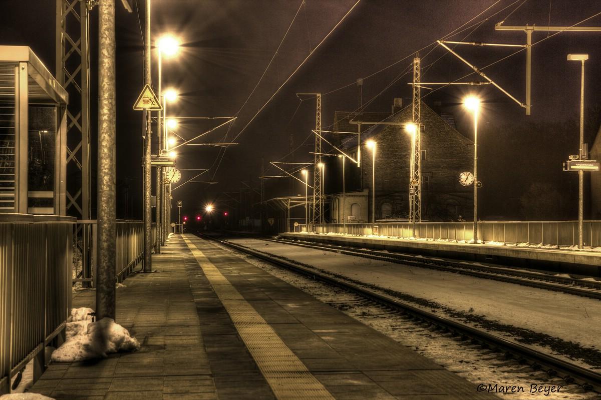 Warten auf den Zug nach Nirgendwo