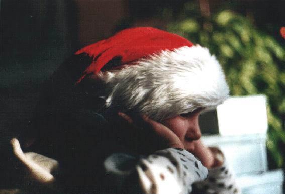 Warten auf die Weihnachtsgeschenke