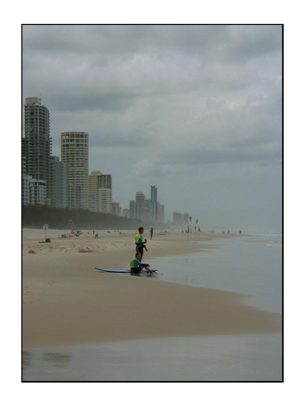 Warten auf die Welle...