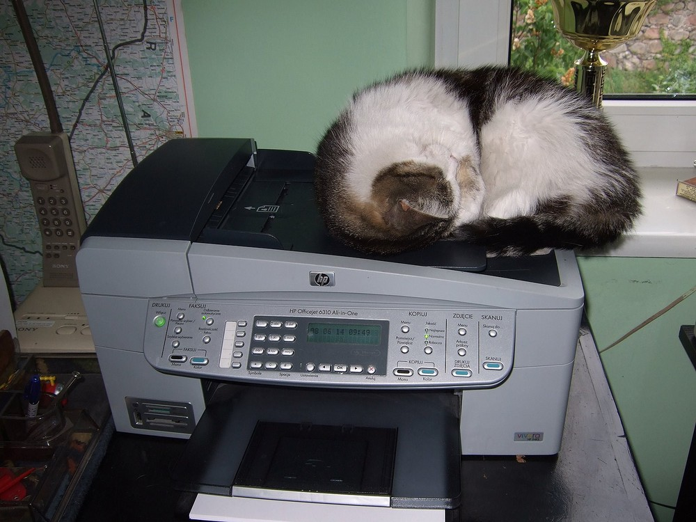Warten auf ein Fax!