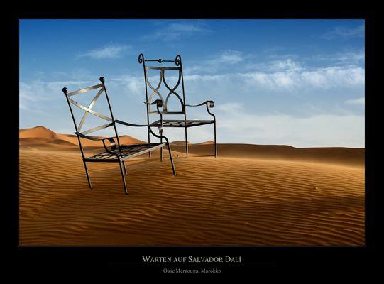 Warten auf Salvador Dalí